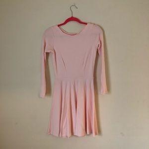 American Apparel Pink Skater Dress